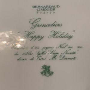 Cartier Dining - Cartier Bernardaud Limoges Grenadiers Dish & Bell